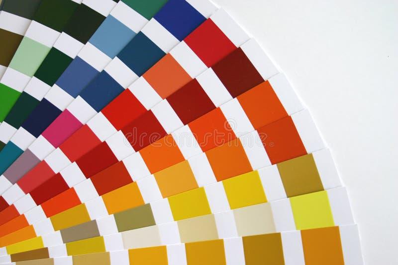 Farbenanleitung stockbilder