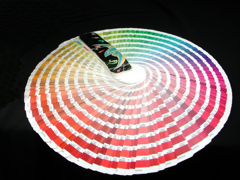 Farbenanleitung stockfotos