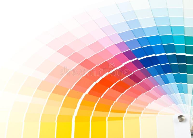 Farbenanleitung. lizenzfreies stockfoto