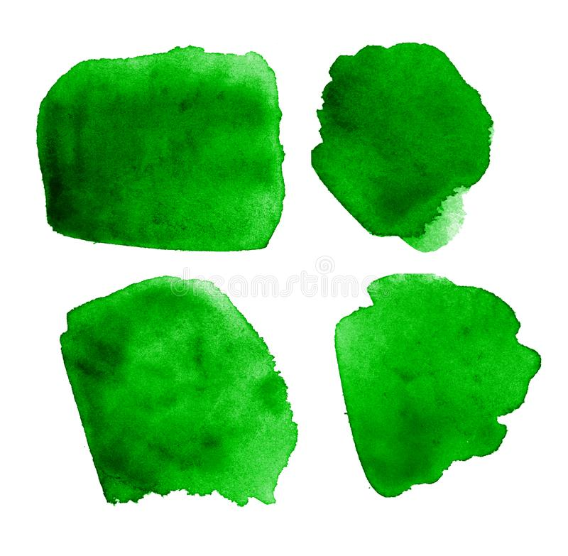 Farbenbeschaffenheit des grünen Grases stock abbildung