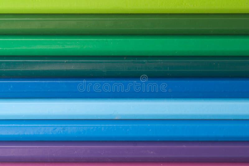 Farbenbleistifte 3 lizenzfreies stockfoto