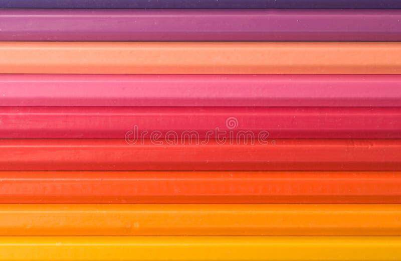 Farbenbleistifte 5 stockbilder