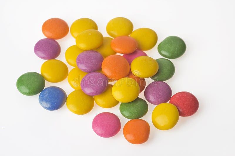 Farbenbonbons stockfotos