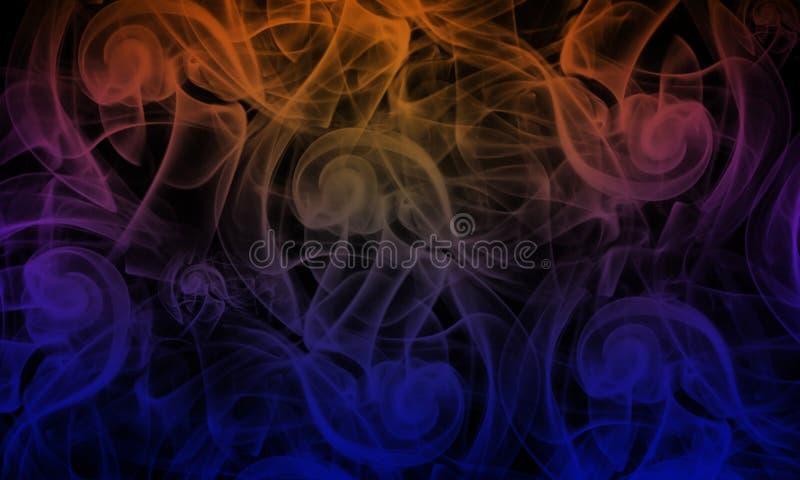 Farbenhintergrund mit Leuchte lizenzfreie stockfotos