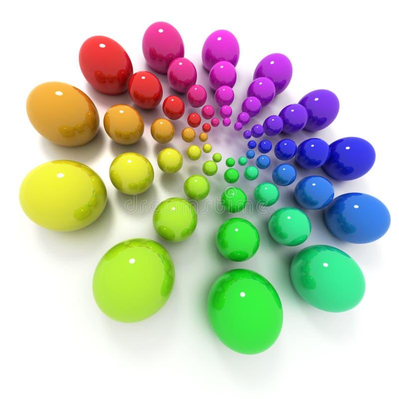 Farbenkreis vektor abbildung