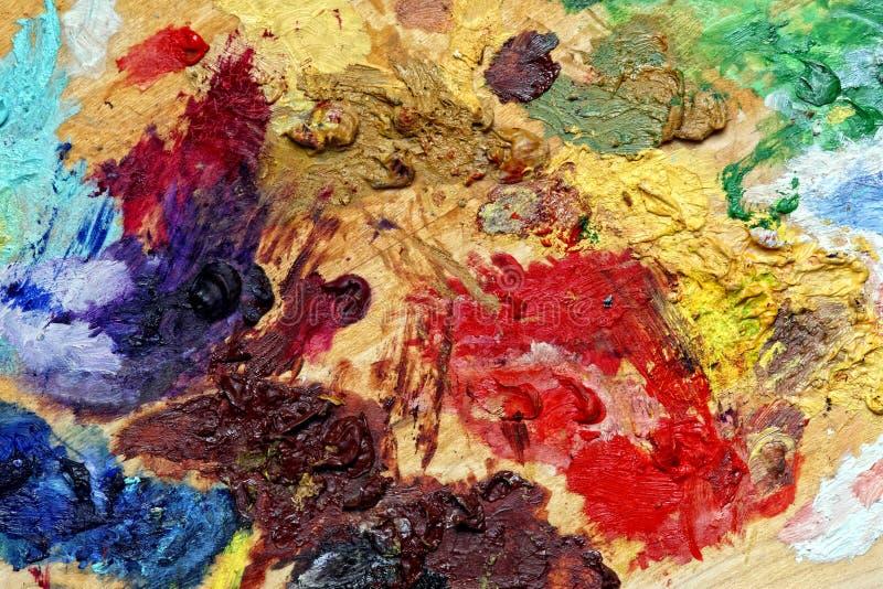 Farbenkunsthintergrund lizenzfreie stockfotografie