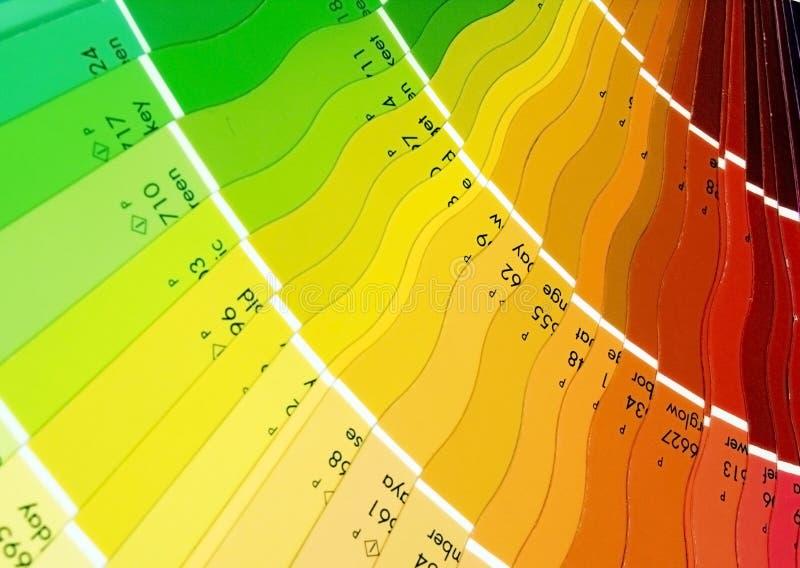 Farbenmuster stockfoto