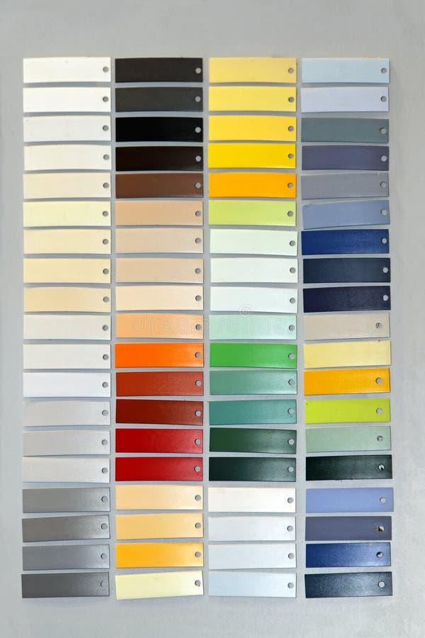 Farbenpalette lizenzfreie stockbilder