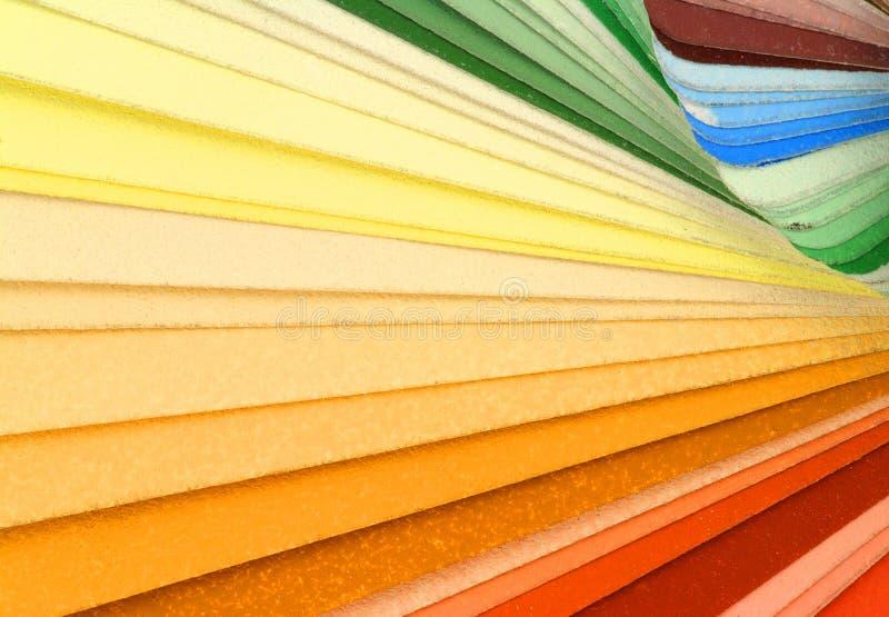 Download Farbenproben stockfoto. Bild von malerpinsel, decorate - 13992046