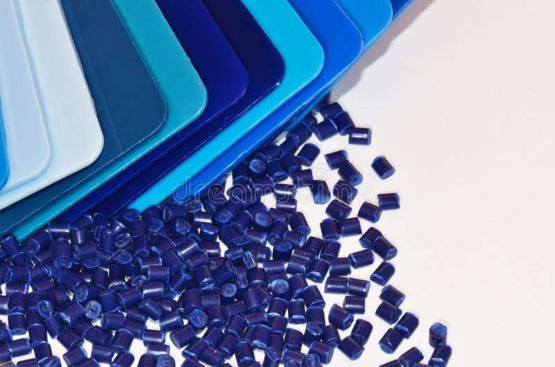 Farbenproben mit granulieren lizenzfreie stockfotos