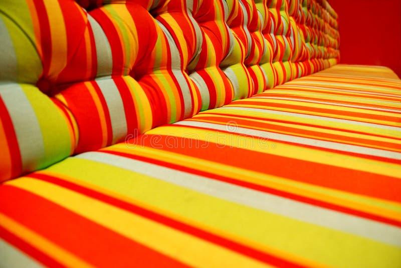 Farbenreicher Lehnsessel II stockbilder