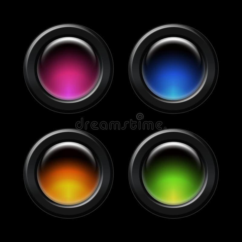 Farbentaste vektor abbildung