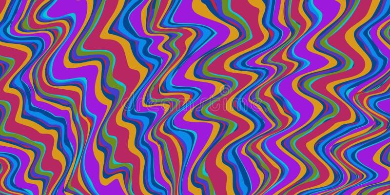 Farbflecken Rot-Blau abstrakte Hintergrund 80er Jahre Stil vektor abbildung
