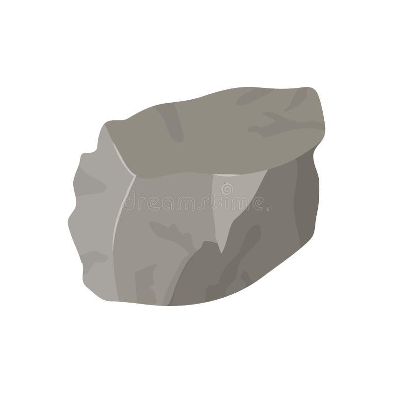 Farbhintergrund mit Klumpen des Felsens vektor abbildung