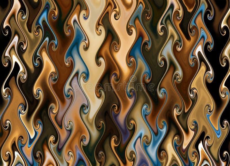 Farbige abstrakte Beschaffenheit. lizenzfreie abbildung