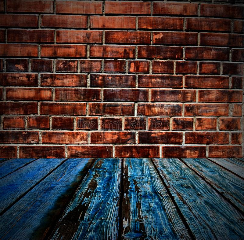 Farbige Backsteinmauerbeschaffenheit stockfoto