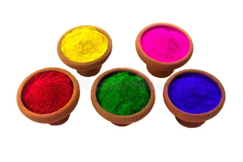 Farbige Färbungen stockbild