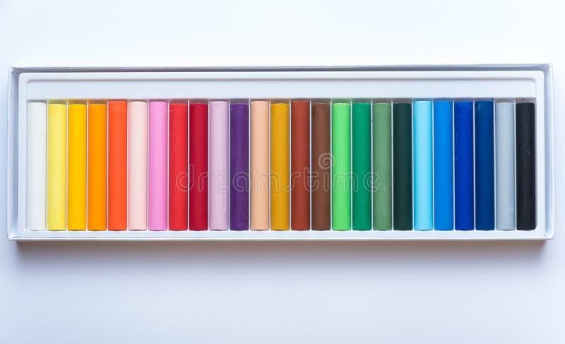 Farbige Farben lizenzfreies stockfoto