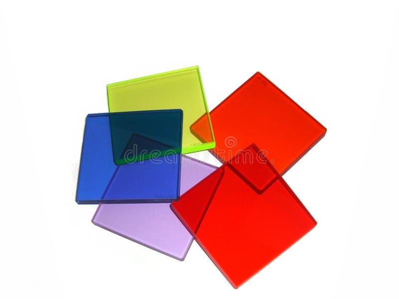 Farbige Filter lizenzfreie stockfotografie