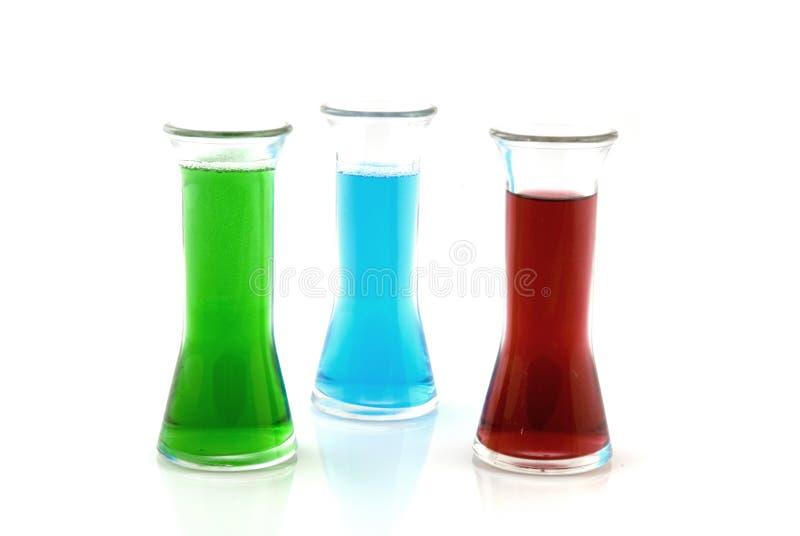Farbige Flüssigkeit Im Glas Stockfoto - Bild von investigate ...
