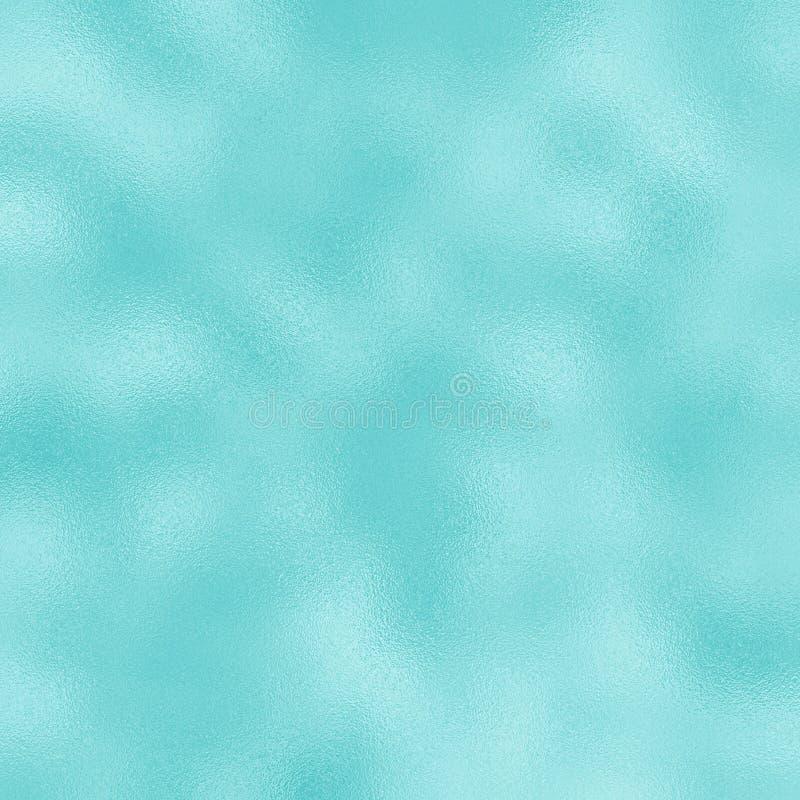 Farbige Folienrasterbeschaffenheit für festlichen Hintergrund Blaue Folienmusterfliese stockfotografie