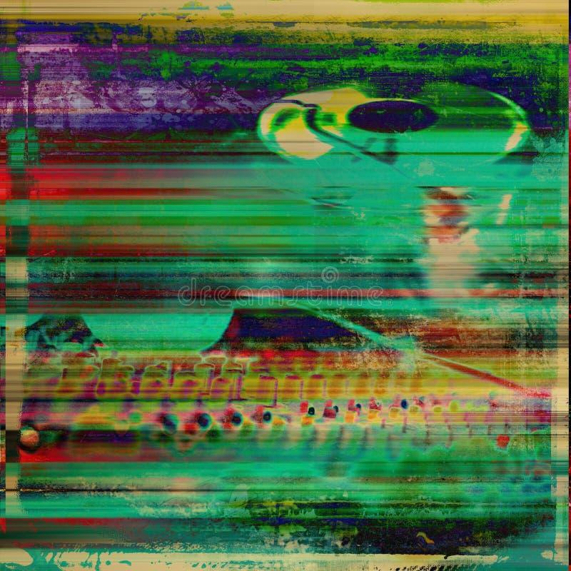 Farbige künstlerische Beckground-Grunge-Kunst lizenzfreie stockfotos