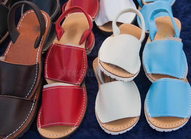 cheap for discount 080c8 a6543 Spanische Schuhe Archivbilder - Abgabe des Download-146 ...