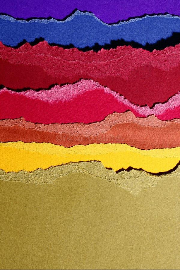 Farbige Pappen lizenzfreie abbildung