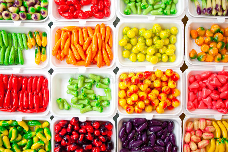 Farbige Süßigkeit. lizenzfreies stockfoto