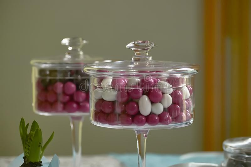 Farbige Süßigkeiten stockfotos