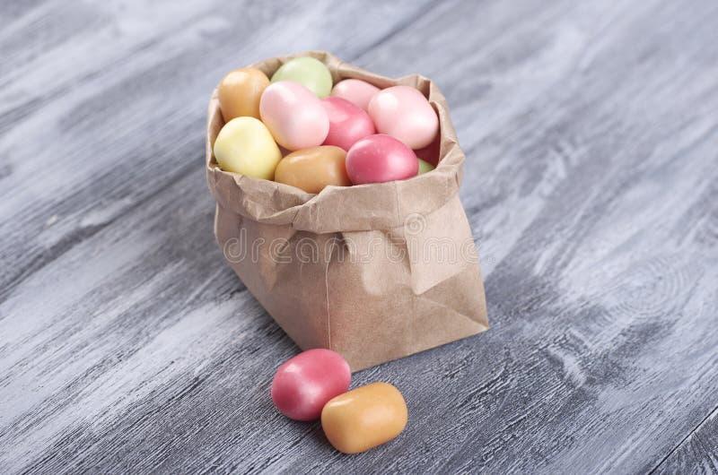 Farbige Süßigkeiten, Marmelade, Lutscher stockbilder