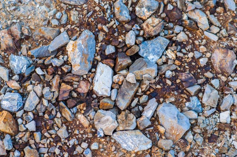 Farbige Steine stockbild
