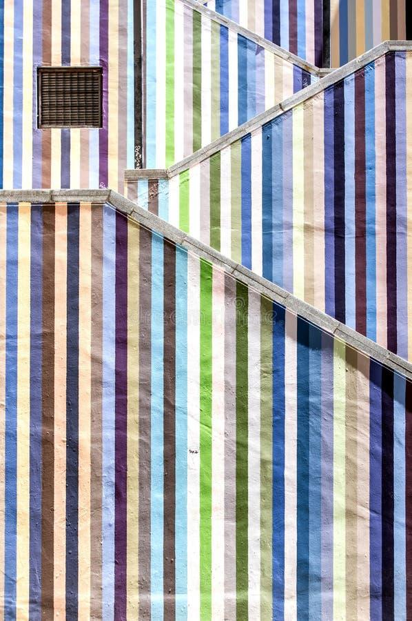 Farbige Treppe lizenzfreie stockfotografie