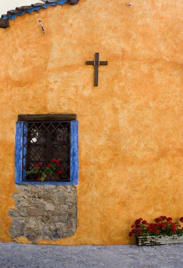 Farbige Wand lizenzfreies stockfoto