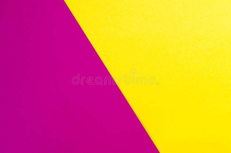 Farbiger geometrischer Papierbeschaffenheitshintergrund stockfotografie