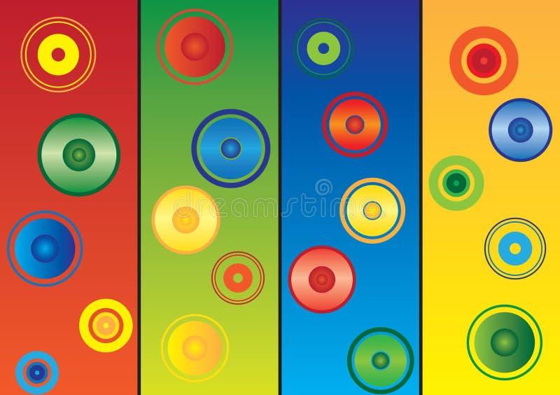 Download Farbiger Hintergrund vektor abbildung. Illustration von abstraktion - 9093762