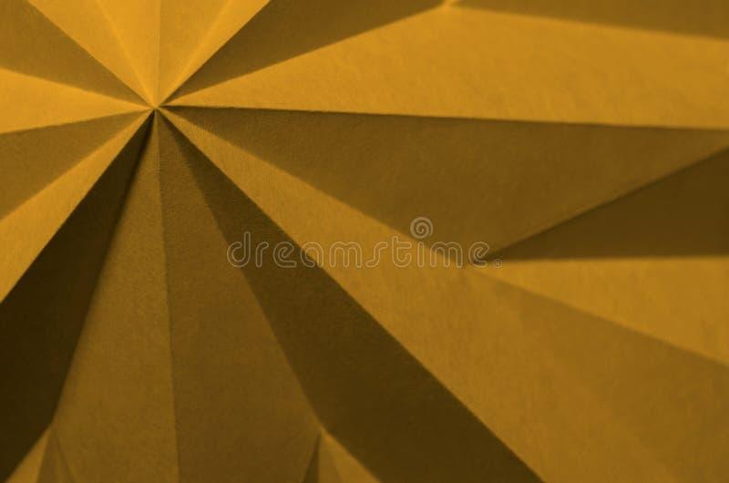 Farbiger Origami als geometrischer abstrakter Hintergrund stockfotografie
