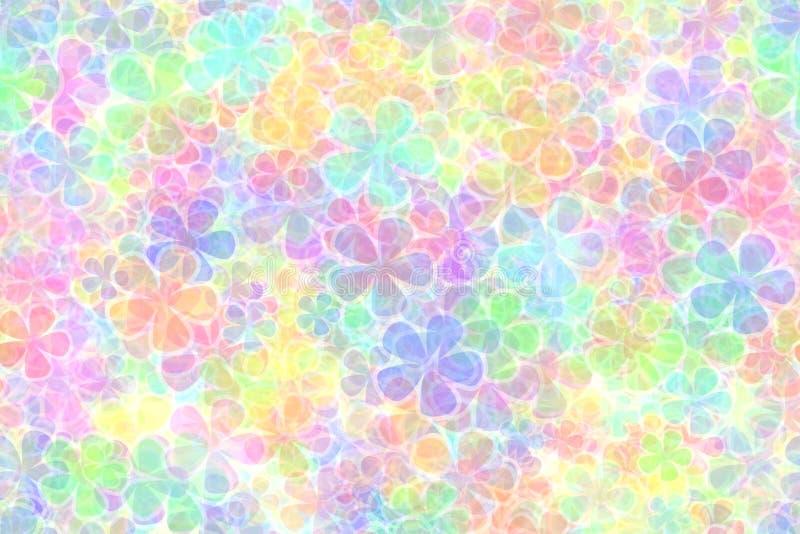 Download Farbiger Pastellhintergrund Stock Abbildung - Illustration von viele, pink: 825279