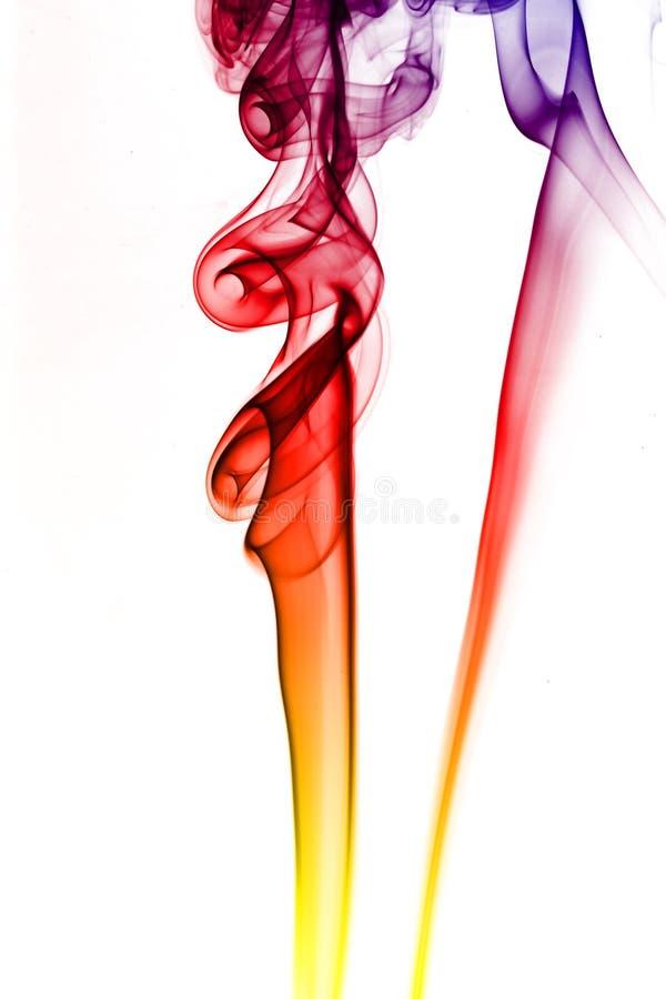Farbiger Rauch lizenzfreies stockfoto
