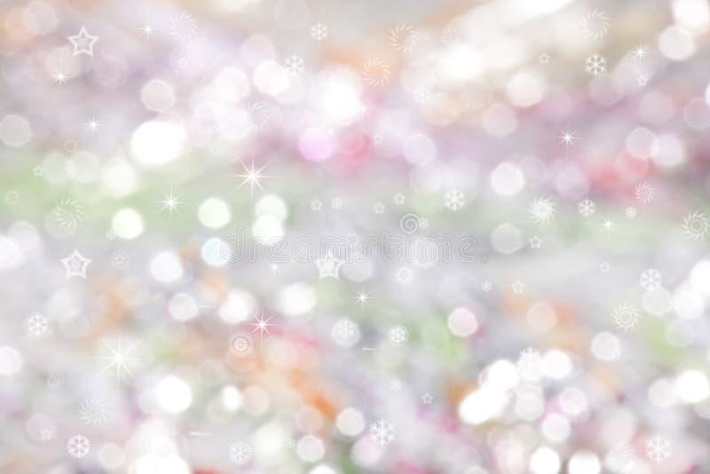 Farbiger Weihnachtshintergrund lizenzfreies stockfoto