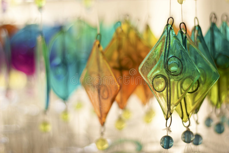 Farbiges Glas lizenzfreies stockbild