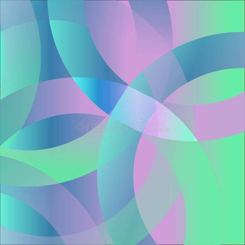 Farbiges Haar bewegt abstrakten Hintergrund wellenartig stockfotos