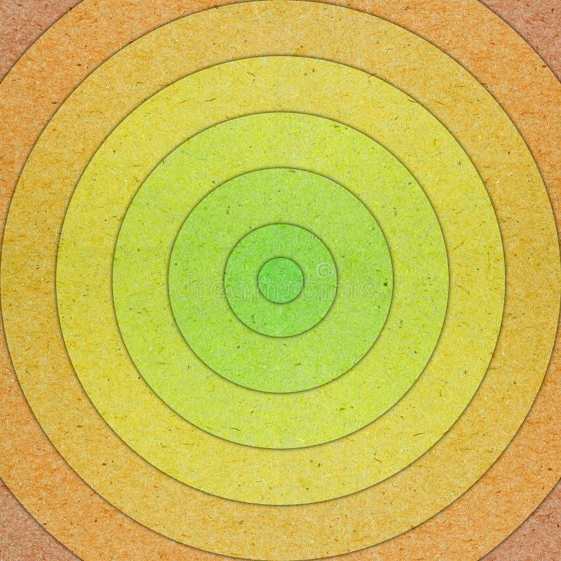 Farbiges Papier schnitt in Kreise Hintergrund stockfotografie