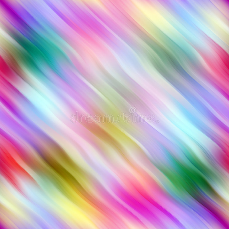 Farbiges Wellenmuster vektor abbildung