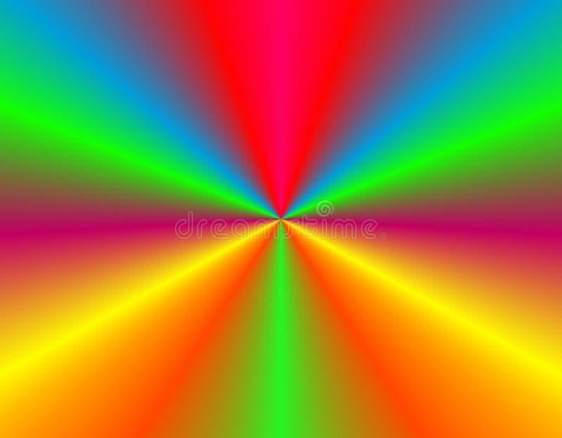 Farbintensität lizenzfreie abbildung