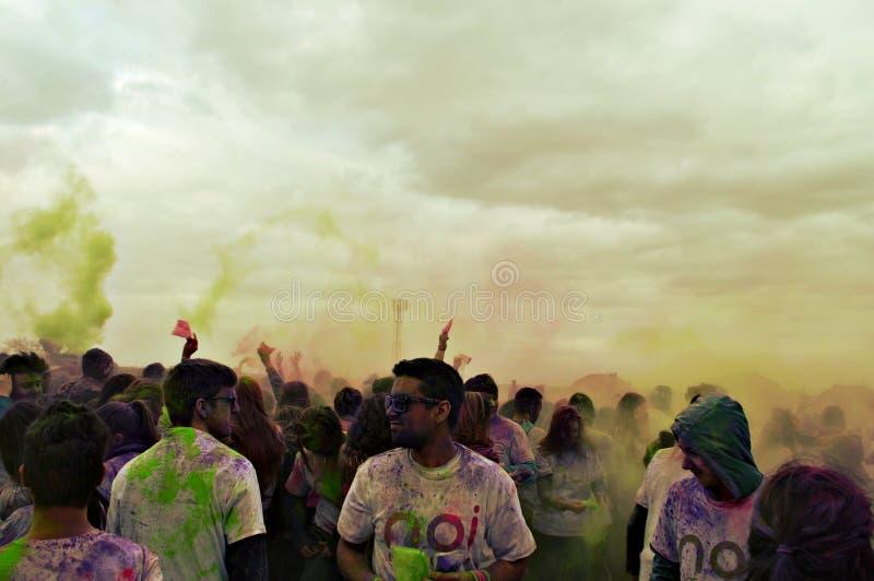 Farbkampf lizenzfreies stockfoto