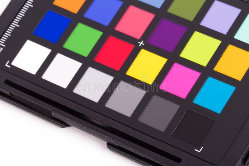 Farbkontrolleur-Ausrüstung stockfotografie