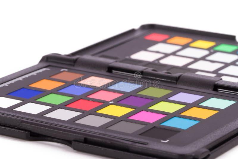 Farbkontrolleur-Ausrüstung lizenzfreie stockbilder