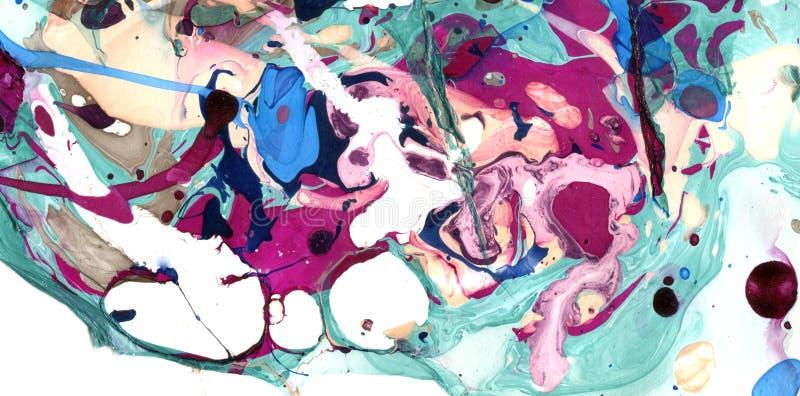 Farbmarmorbeschaffenheit vektor abbildung