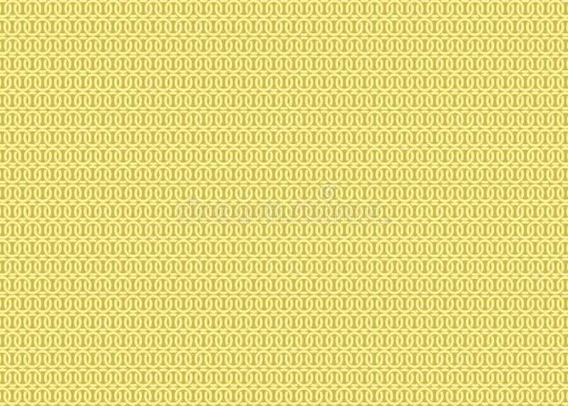 FARBmuster-Hintergrund-Tapete Techno orientalische dekorative weiche Pastellsahne stock abbildung